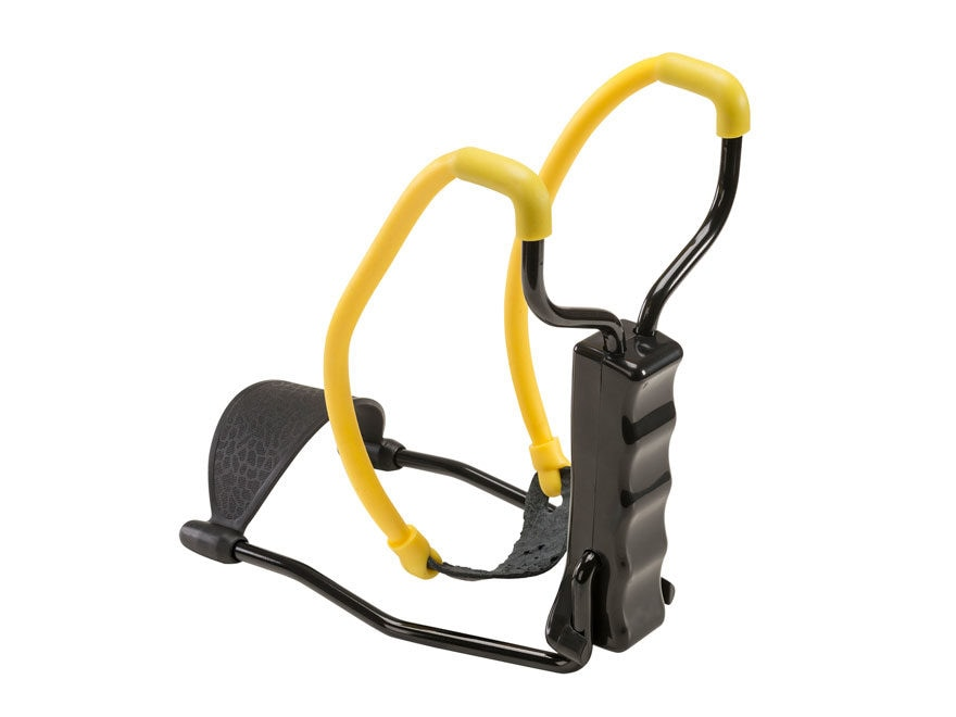 Umarex NXG Compact Slingshot Polymer Handle Yellow and Black