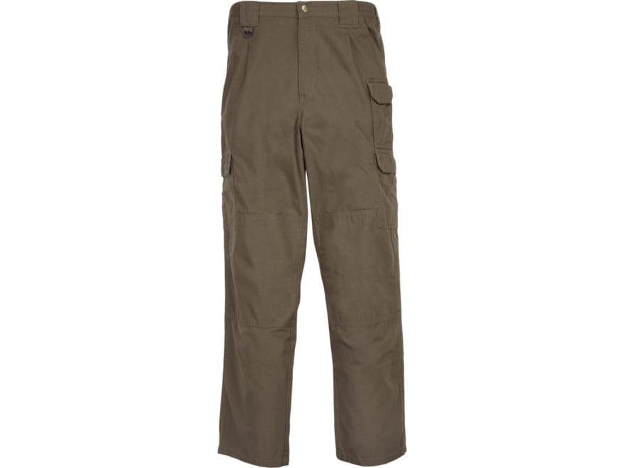 653abeb186551 5.11 Men's Tactical Pants Cotton Canvas Olive Drab 36 Waist 32 Inseam
