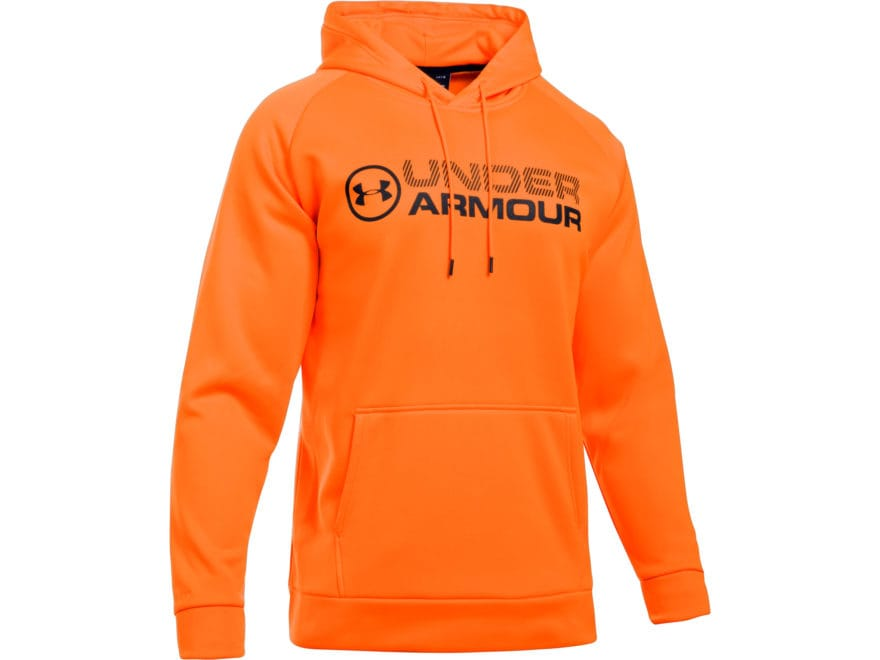 Under Armour Men's UA Armour Fleece Stacked On Hoodie Polyester