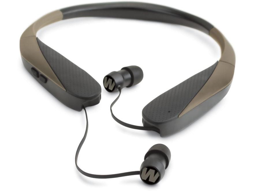 Walker's Razor-X Neck Worn Rechargeable Electronic Ear Plugs (NRR 31dB) Flat Dark Earth