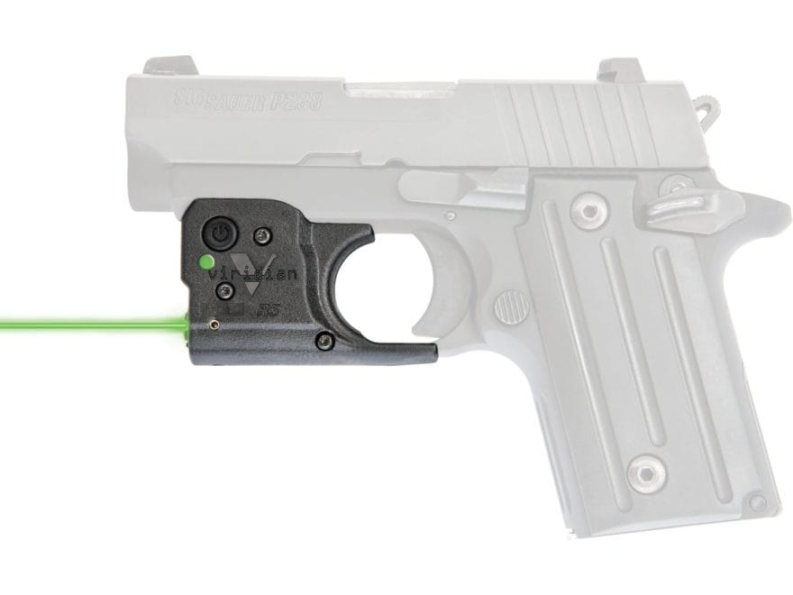 Viridian Reactor 5 Gen 2 Laser Sight with ECR Polymer Black with Inside the Waistband H...