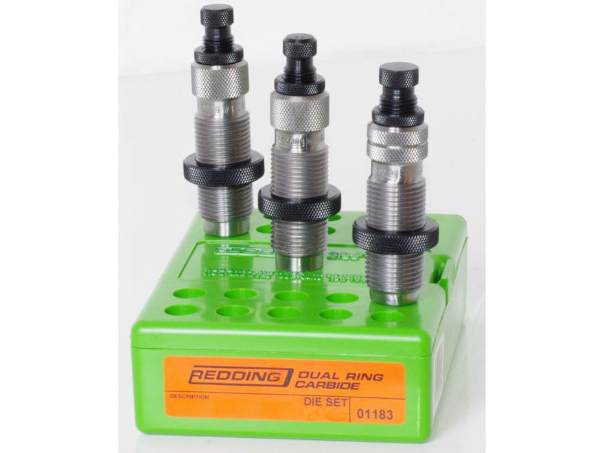 Redding Pro Series Dual Ring Carbide 3-Die Set