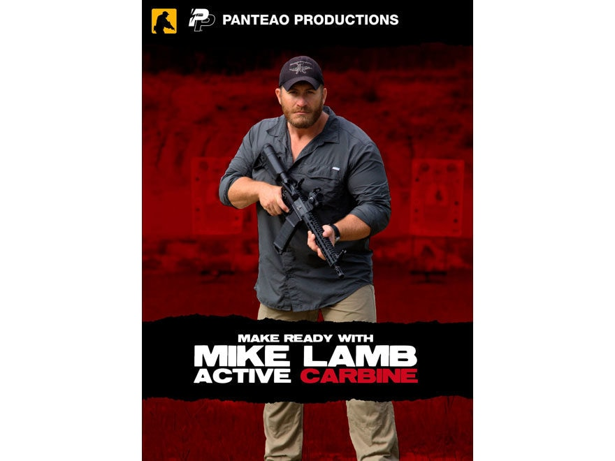 "Panteao ""Make Ready with Mike Lamb: Active Carbine"" DVD"