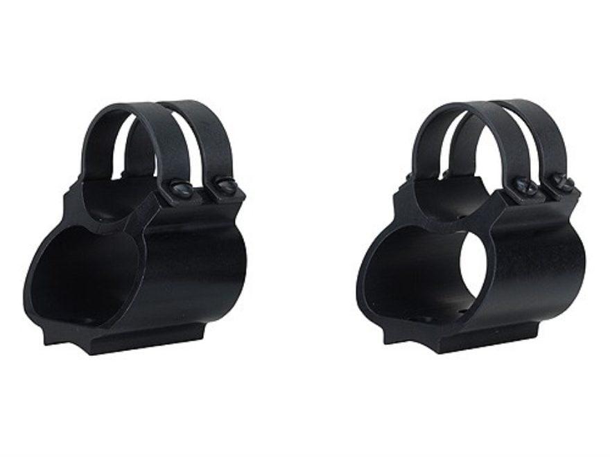 """Weaver 1"""" Steel Lock See-Thru Ring Mount Remington Models 4, 6, 7400, 7600 Matte"""