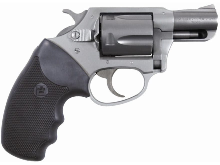 """Charter Arms Southpaw Revolver 38 Special +P 2"""" Barrel 5-Round Black Rubber"""