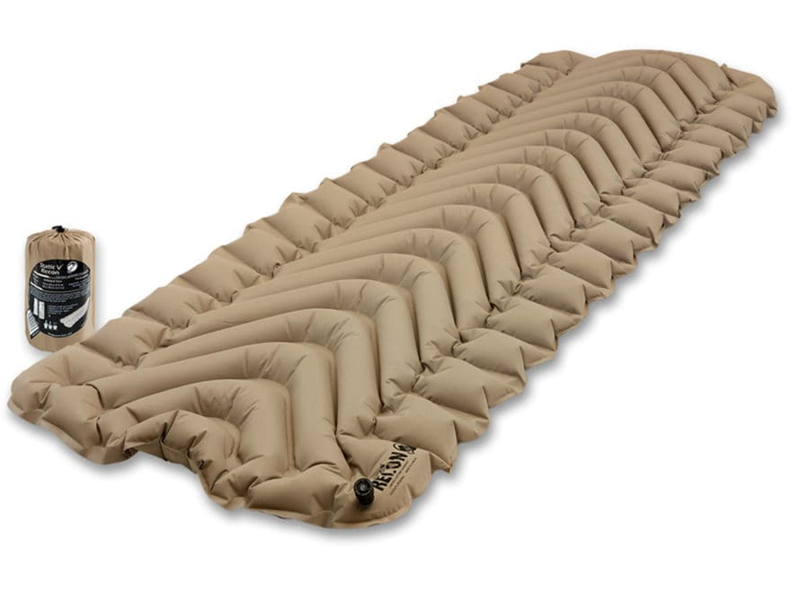 Klymit Static V Recon Sleeping Pad Polyester Coyote and Sand