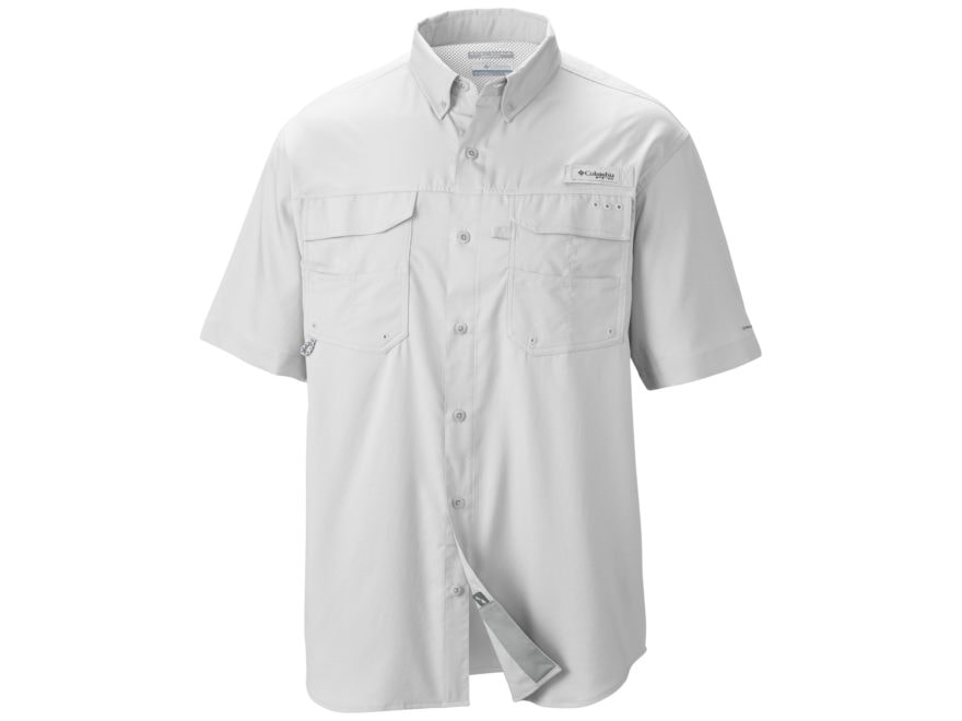 934843562f3 Columbia Men's PFG Blood and Guts III Button-Up Shirt Short Sleeve  Polyester. Alternate Image; Alternate Image