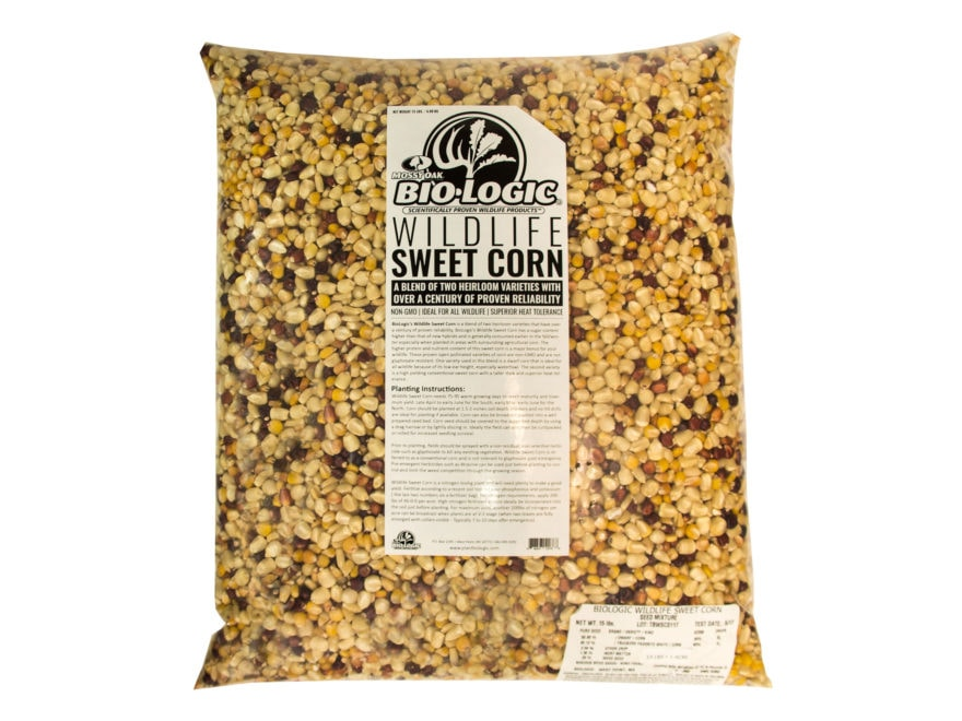 Biologic Wildlife Sweet Corn Annual Food Plot Seed 15 lb