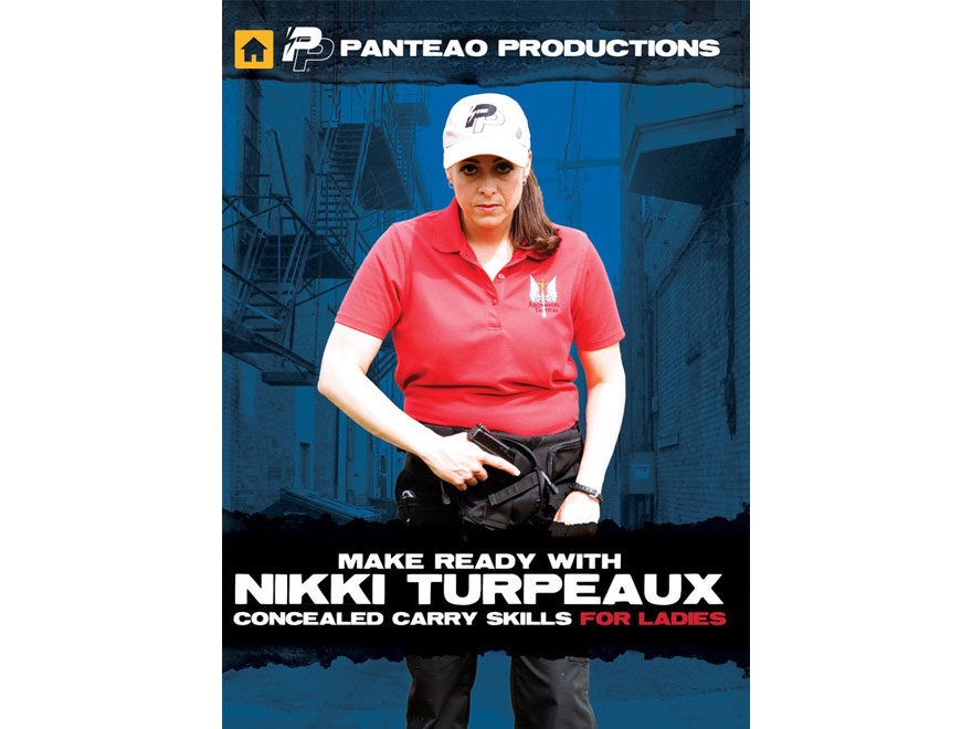 """Panteao """"Make Ready with Nikki Turpeaux: Concealed Carry Skills for Ladies"""" DVD"""