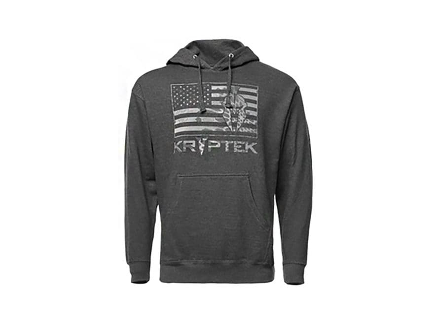 Kryptek Men's Flag Hoodie Cotton/Poly