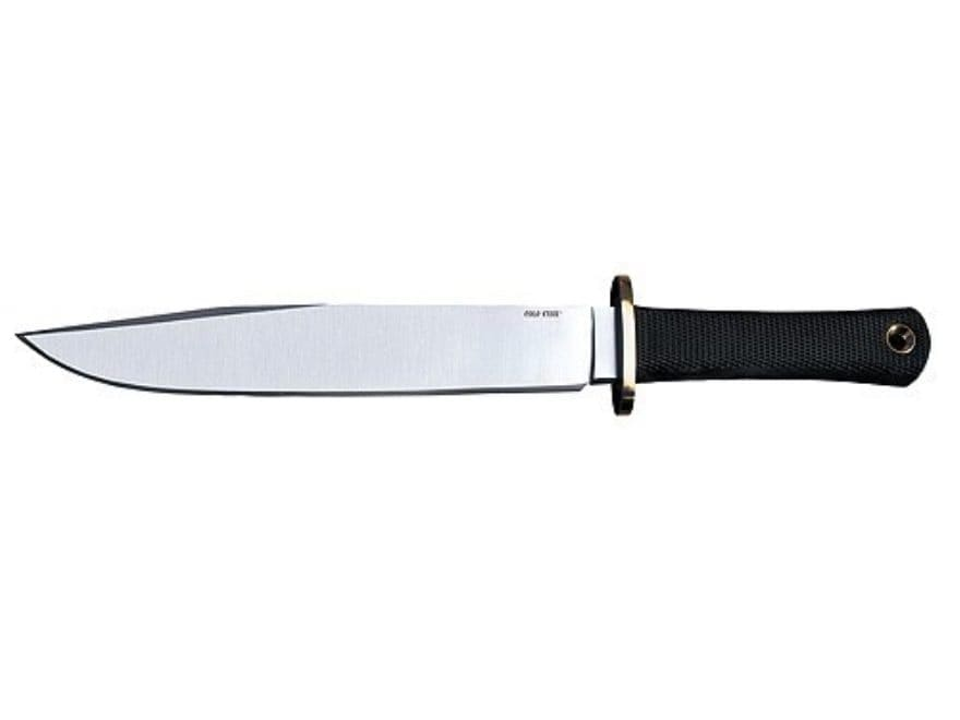 """Cold Steel Trail Master Fixed Blade Knife 9.5"""" Drop Point O-1 High Carbon Steel Kraton ..."""