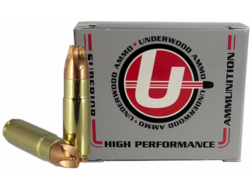 Underwood Xtreme Hunter Ammunition 458 SOCOM 250 Grain Lehigh Xtreme Defense Lead-Free ...