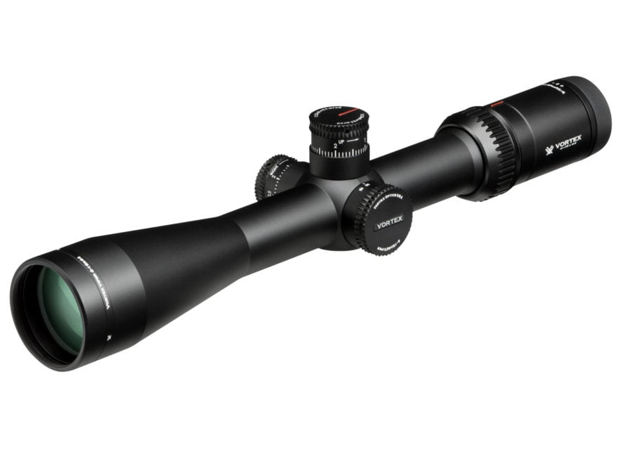 Vortex Optics Viper HS-T Rifle Scope 30mm Tube 4-16x 44mm Side Focus 1/10 MIL Adjustmen...