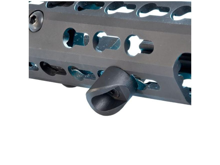 Troy Industries Hand Stop Low Profile KeyMod Aluminum Black