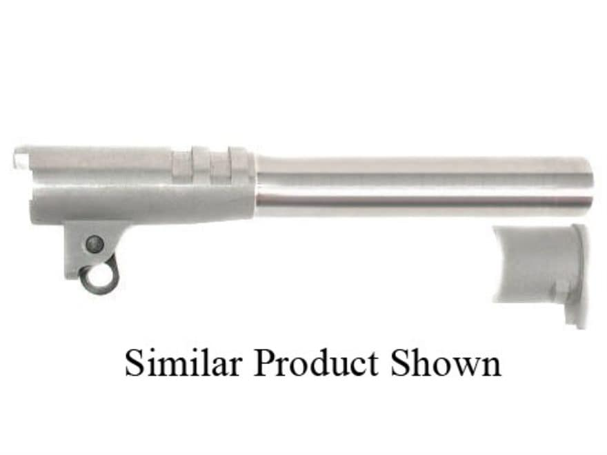 "Bar-Sto Semi-Drop-In Barrel 1911 Commander 38 Super 1 in 16"" Twist 4.3"" Stainless Steel"
