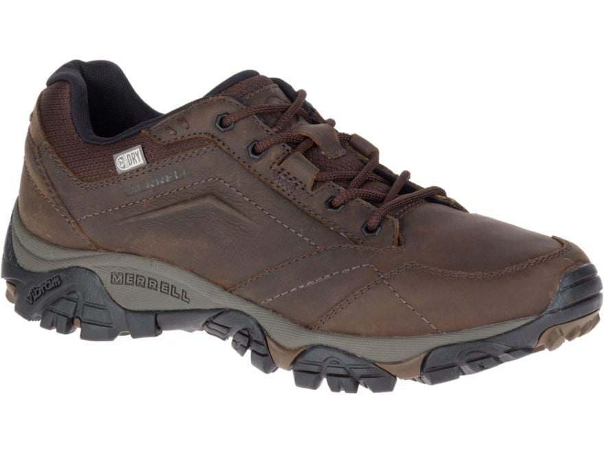 "Merrell Moab Adventure Lace Low 4"" Waterproof Hiking Shoes Leather/Synthetic Men's"