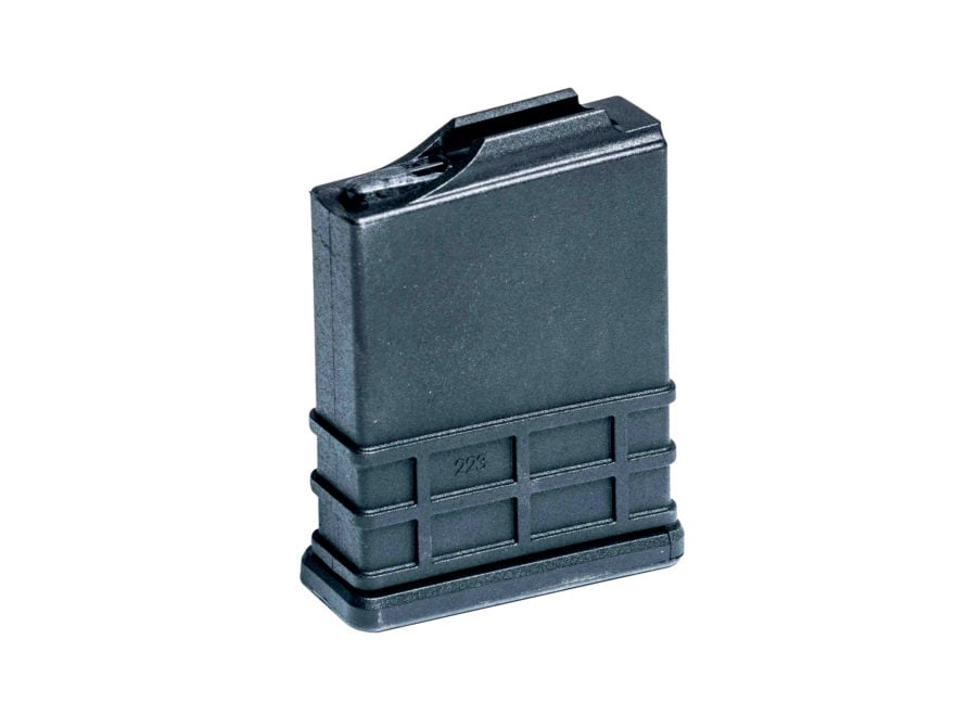 MDT Magazine AICS Short Action 223 Remington, 5.56x45mm, 300 AAC Blackout 10-Round Poly...