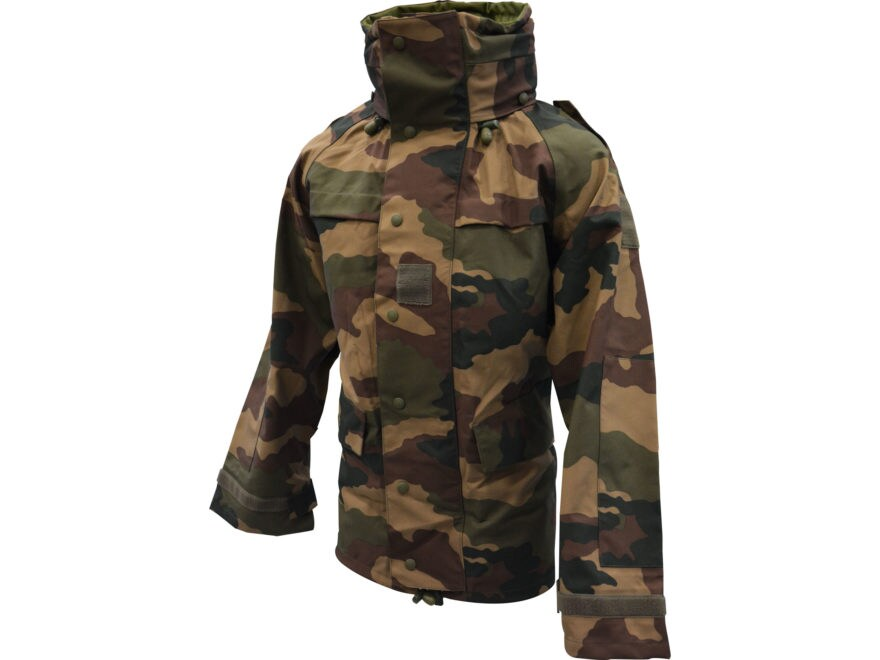 Military Surplus NATO Rain Jacket CEC Camo