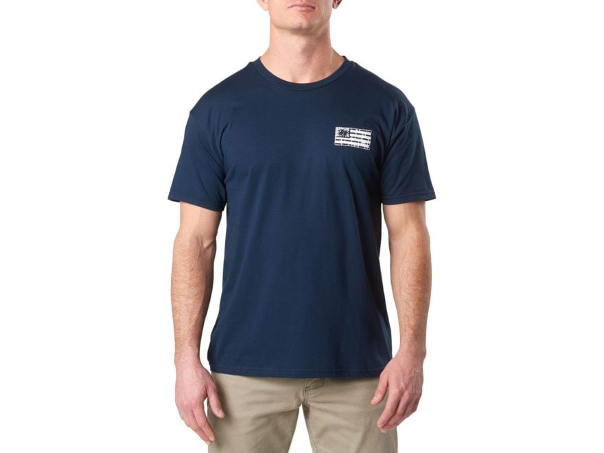 5.11 Men's Brick and Mortar T Shirt Short Sleeve Polyester/Cotton Blend