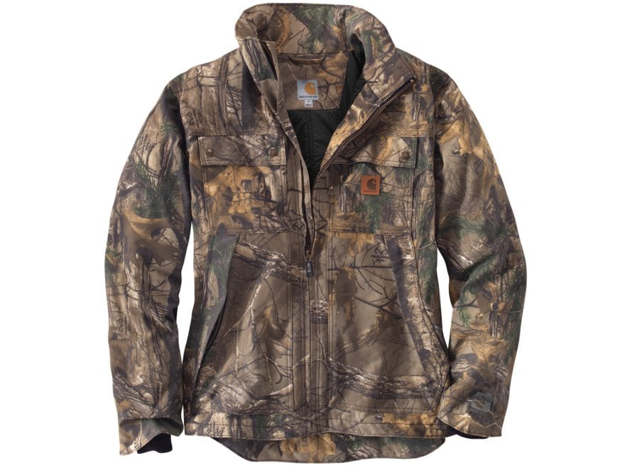 Carhartt Men's Quick Duck Traditional Jacket Cotton/Polyester Realtree Xtra Camo