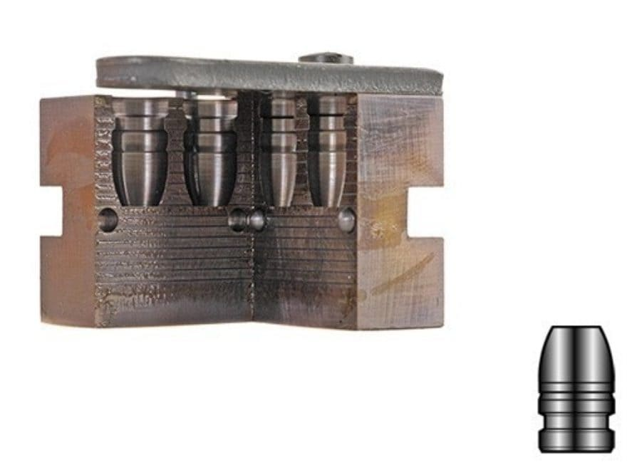 Lyman 2-Cavity Bullet Mold #429667 44 Special, 44 Remington Magnum (430 Diameter) 240 G...