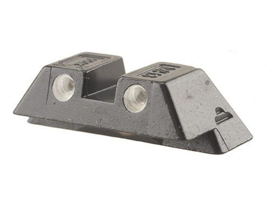 """Glock Rear Sight 6.9mm .271"""" Height Steel Black Tritium"""
