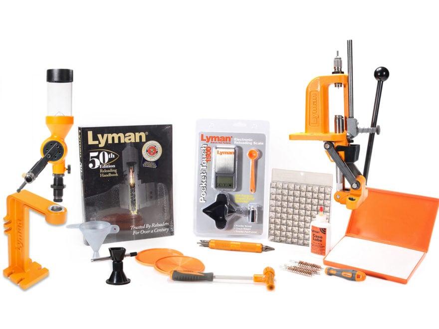 Lyman Brass Smith Victory Single Stage Press Reloading Kit