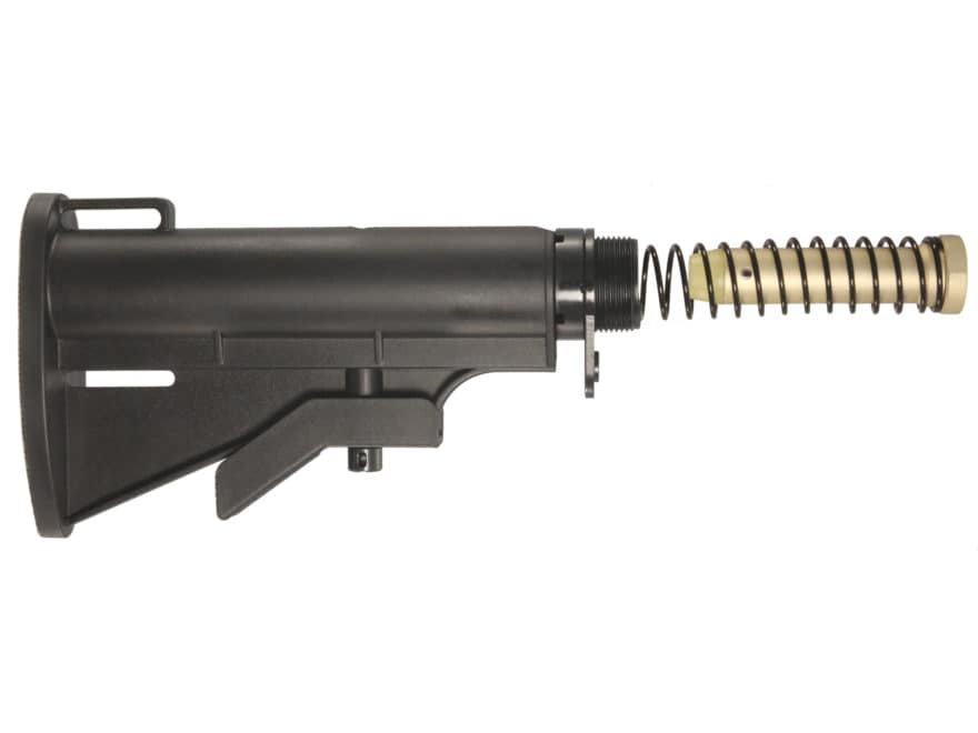 UTG Pro Collapsible Stock Assembly 4-Position CAR Commerical Diameter AR-15 Carbine Syn...