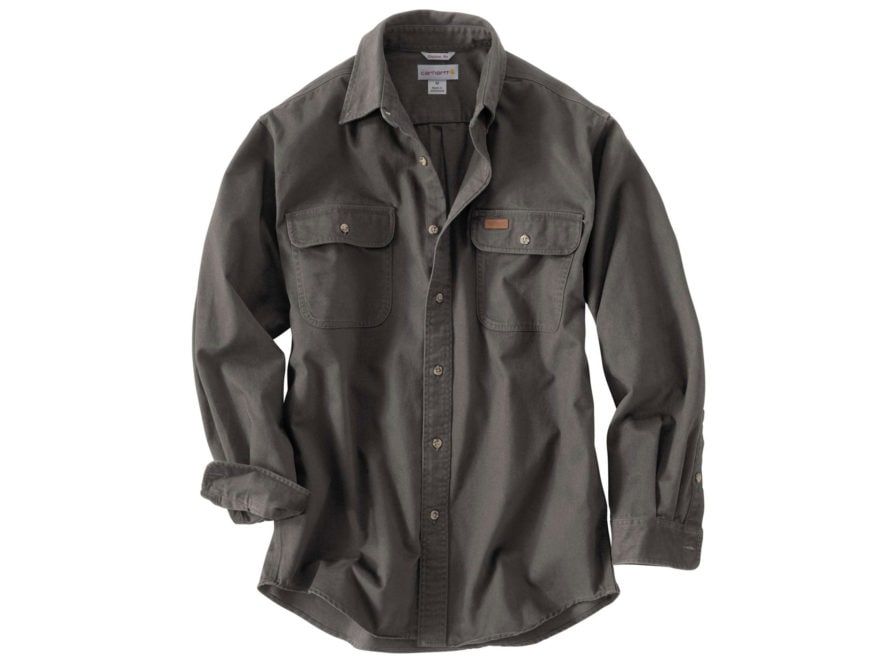 Carhartt Men's Oakman Work Shirt Long Sleeve Cotton