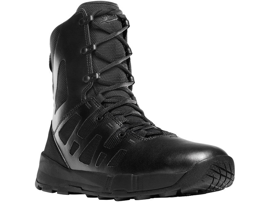 "Danner Dromos 8"" Tactical Boots Leather and Mesh Black Men's"