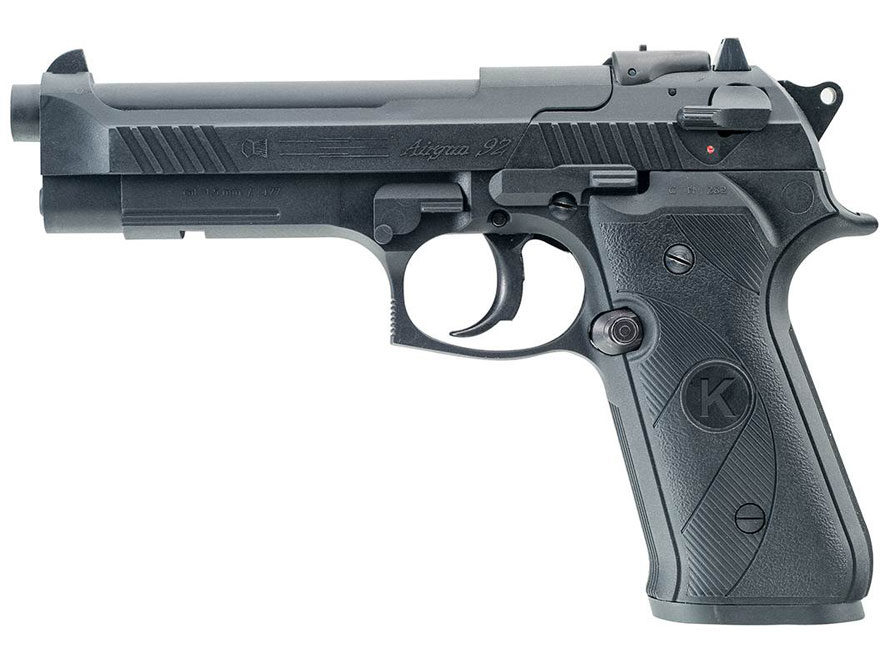 Chiappa AG92 Air Pistol 177 Caliber Pellet Black