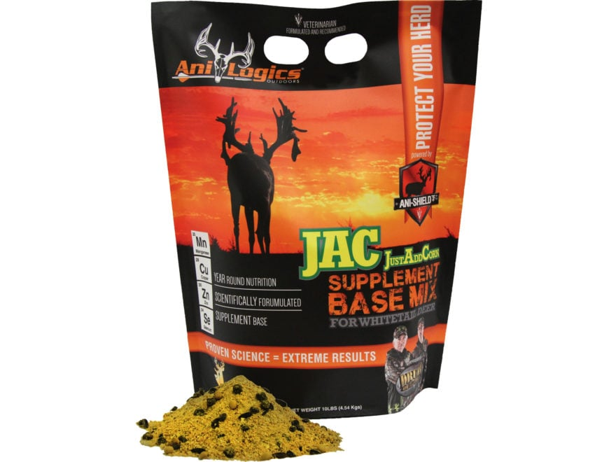 Anilogics JustAddCorn Base Mix Deer Supplement