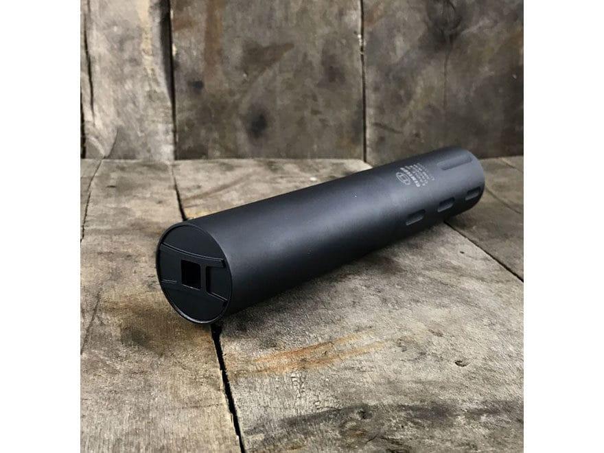 """Gemtech Dagger II Inert Display Suppressor 5/8""""-24 Threaded Aluminum Matte"""