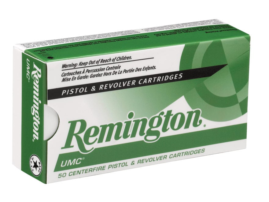 Remington UMC Ammunition 380 ACP 95 Grain Full Metal Jacket