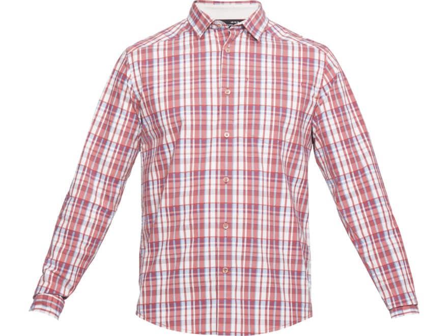 Under Armour Men's UA Legacy Woven Button-Up Shirt Long Sleeve Cotton/Poly