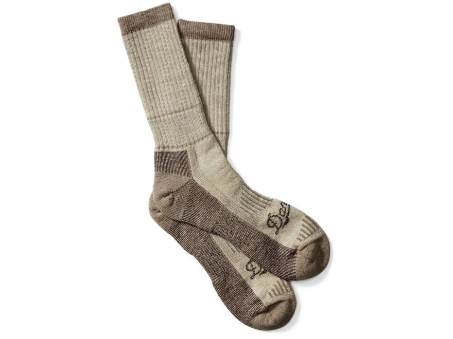 Danner Men's Midweight Crew Hunting Socks Merino Wool/Nylon Brown Heather