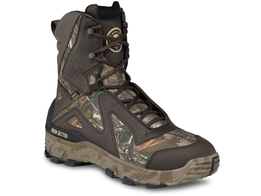 "Irish Setter VaprTrek LS 9"" Waterproof 1200 Gram Insulated Hunting Boots Ripstop Realtr..."