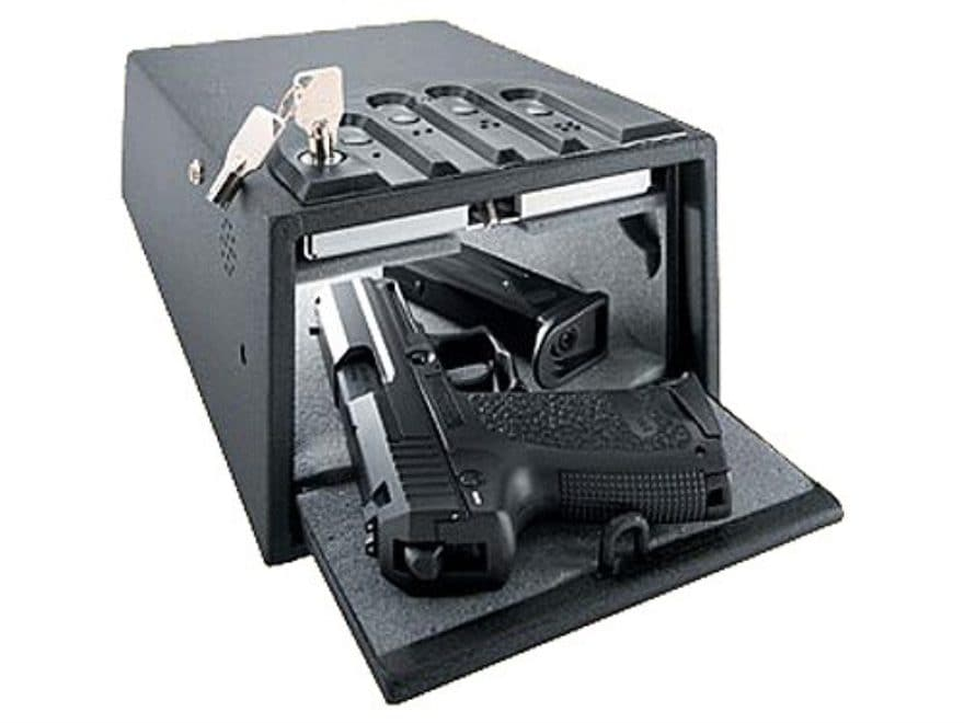 GunVault Deluxe MiniVault Personal Safe with Electronic Lock Black