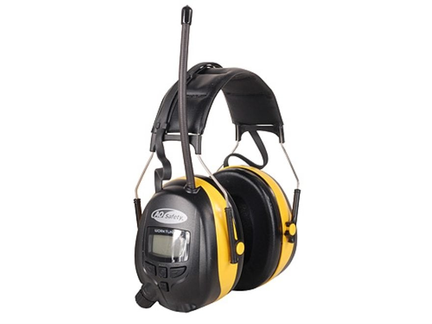 3M Digital Worktunes AM/FM Electronic Earmuffs