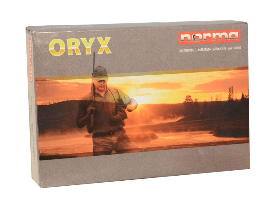 Norma USA American PH Ammunition 8x57mm JRS Mauser (8mm Rimmed Mauser) 196 Grain Oryx P...