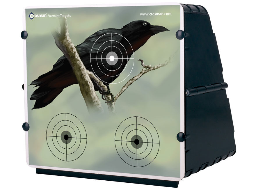 Crosman Collapsible Air Gun Pellet Trap with 12 Targets