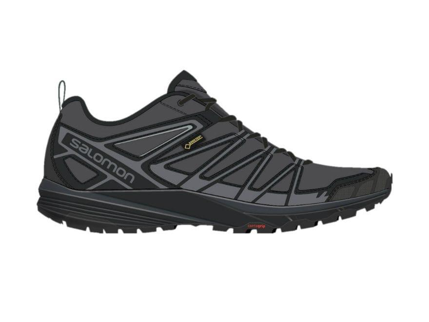 """Salomon X Crest GTX 4"""" Hiking Shoes Synthetic Men's"""