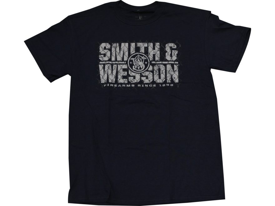 Smith & Wesson Men's Cyclone Fence T-Shirt Short Sleeve Cotton