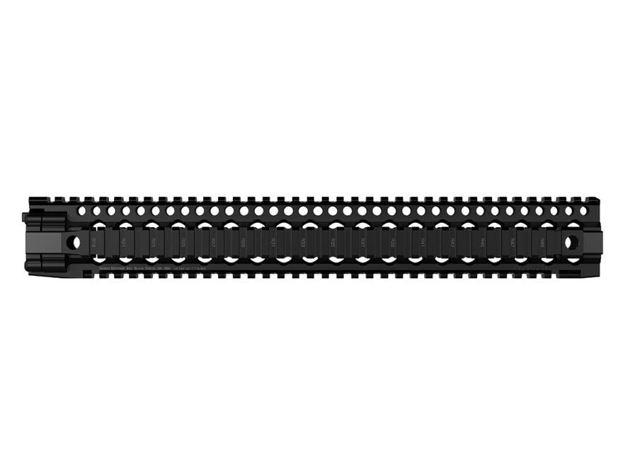 Daniel Defense DDM4 15.0 Free Float Handguard Quad Rail AR-15 Aluminum Black