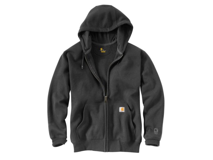 Carhartt Men's Paxton Rain Defender Heavyweight Full-Zip Hooded Sweatshirt Cotton/Polye...