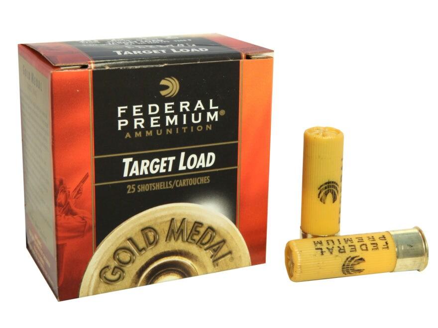 """Federal Premium Gold Medal Ammunition 20 Gauge 2-3/4"""" 7/8 oz"""