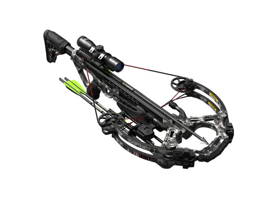 Barnett Tactical Series 390 Crossbow Package with 4x32 Scope Gray Digital Camo