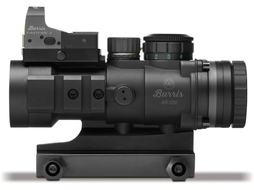 Burris AR-332 3x 32mm Prism Sight Ballistic CQ Reticle Matte with Free FastFire III Ref...