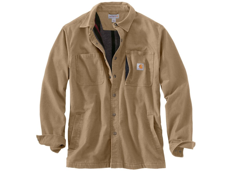 Carhartt Men's Rugged Flex Rigby Shirt Jac Cotton/Spandex