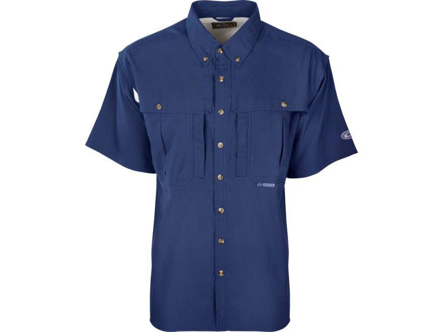 Drake Men's Flyweight Wingshooter's Shirt Short Sleeve Polyester